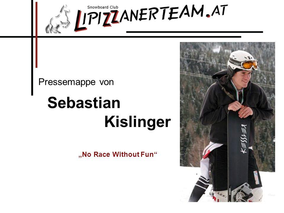 Sebastian Kislinger Pressemappe von No Race Without Fun