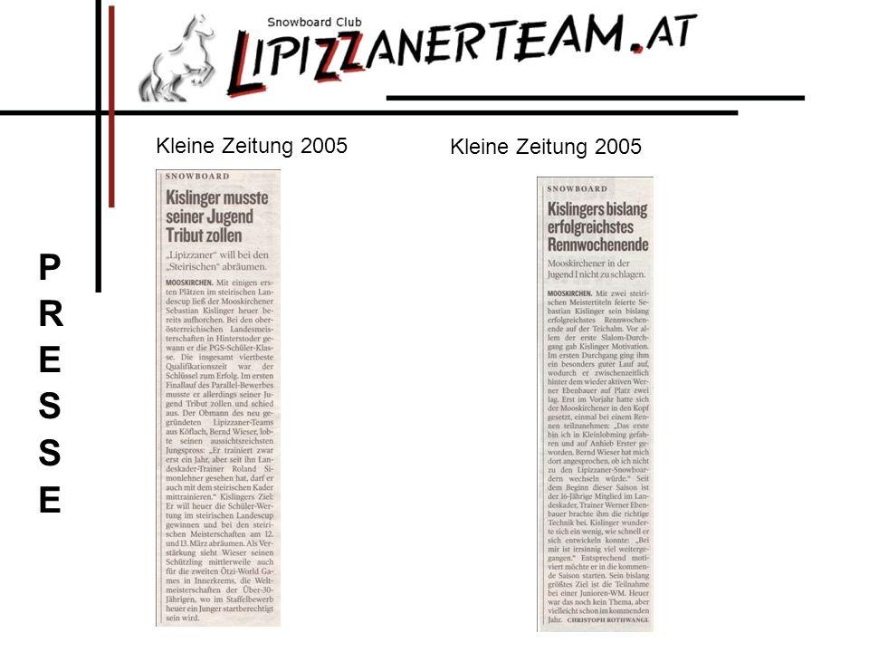 Kleine Zeitung 2005