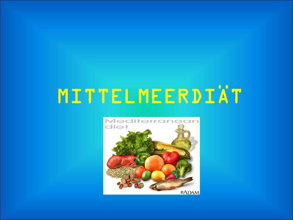 Die traditionelle Mittelmeerdiät, nach vielen Studien in unserem Land und in anderen Ländern, ist als die gesündeste nachgewiesen worden.