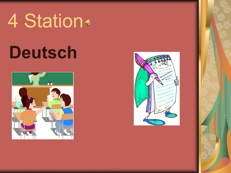 4 Station Deutsch