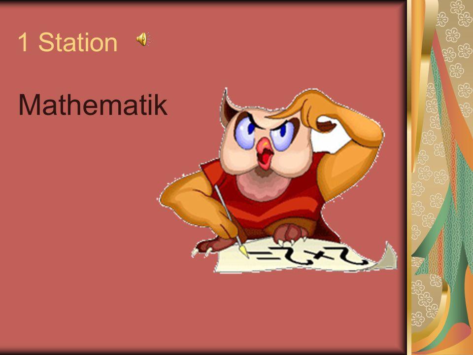 1 Station Mathematik