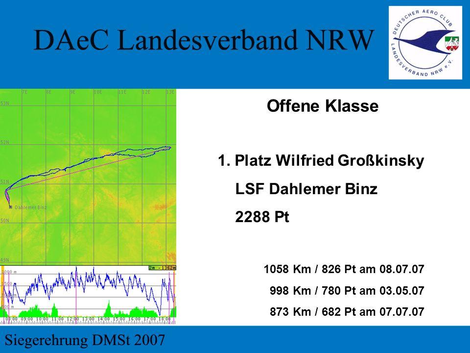 Vereinswertung 4. Platz LSG Erbslöh-Langenfeld 50.559 Pt 55.445 Km 232 Flüge