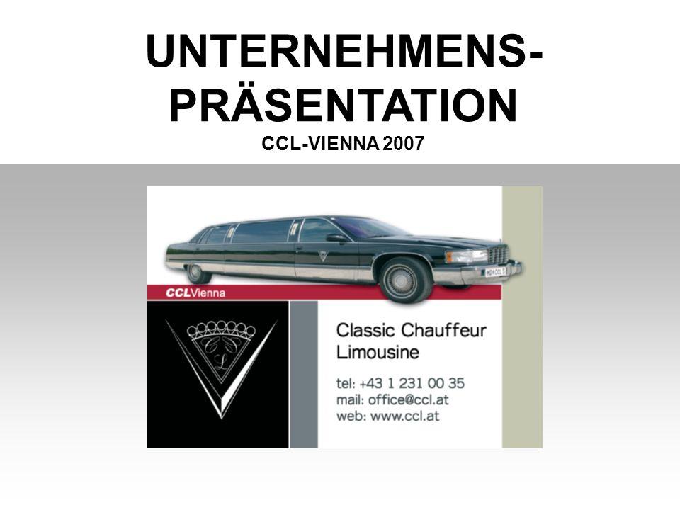 UNTERNEHMENS- PRÄSENTATION CCL-VIENNA 2007