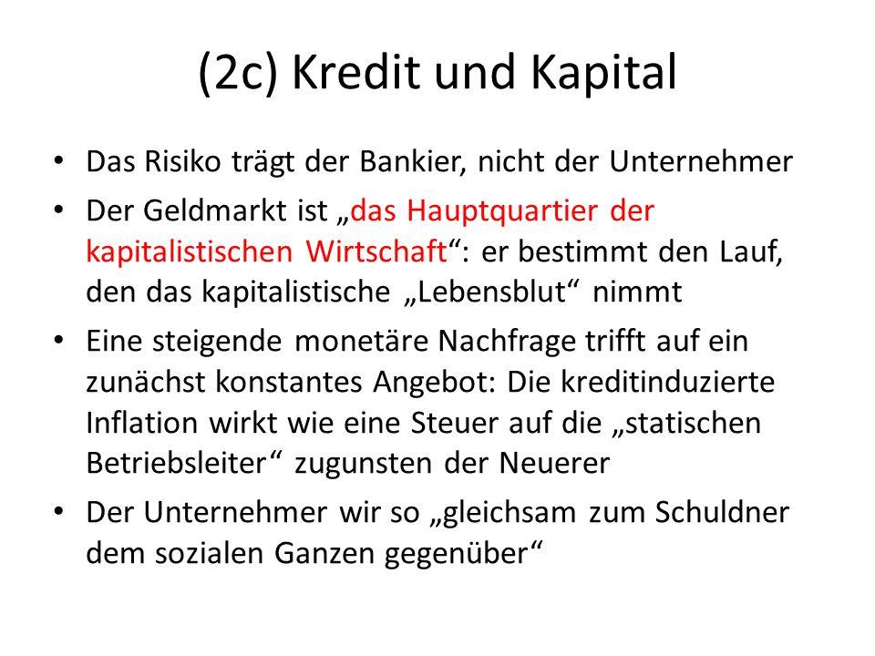 (2c) Kredit und Kapital Was ist Kapital.