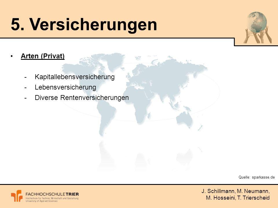 J. Schillmann, M. Neumann, M. Hosseini, T. Trierscheid 5.