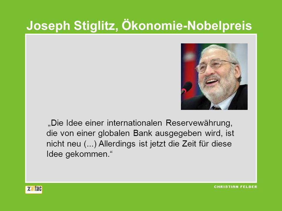 Die Idee einer internationalen Reservewährung, die von einer globalen Bank ausgegeben wird, ist nicht neu (...) Allerdings ist jetzt die Zeit für diese Idee gekommen.
