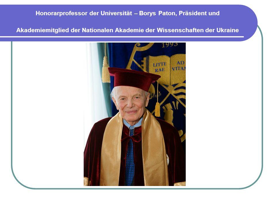 Dezember 2012 wurde dadurch gekennzeichnet, dass Alfred- Nobel-Universität auf der Sitzung der Generalversammlung von Europäischen Organisation für Kontrolle und Qualität zu einem Finalisten und Preisträger dieses prestigeträchtigen Wettbewerbs wurde.
