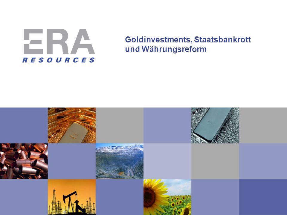 Goldinvestments, Staatsbankrott und Währungsreform