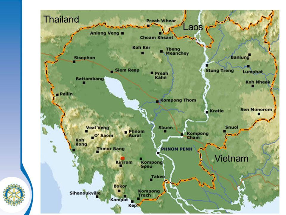 Distrikt 1870 Halbjahrestreffen – 16.1.2010 Thailand Laos Vietnam