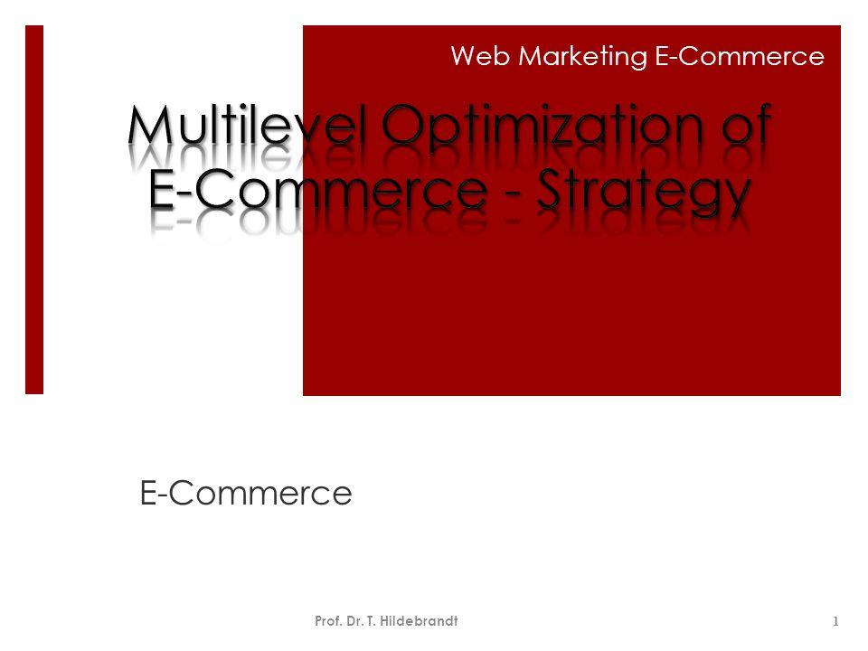 CRM Optimierung ECC-Handel Okt.2009Prof. Dr. T.