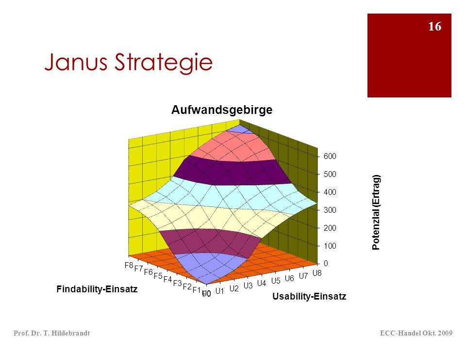 Janus Strategie ECC-Handel Okt. 2009Prof. Dr. T. Hildebrandt 16