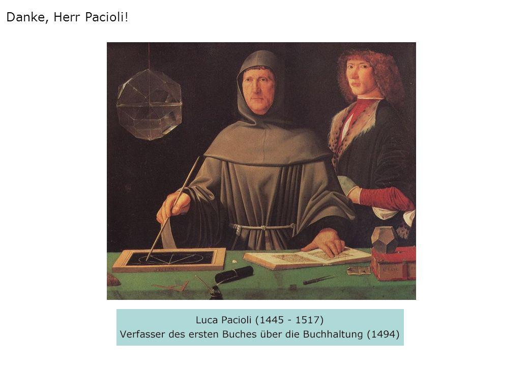 Danke, Herr Pacioli!