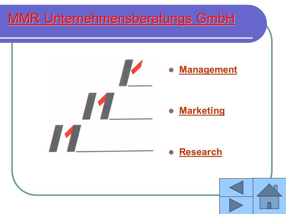 MMR Unternehmensberatungs GmbH Information: Wir bitten um Ihr Verständnis, daß an dieser Stelle aus individuellen Datenschutzgründen nur Branchen und Projekttitel genannt werden können.