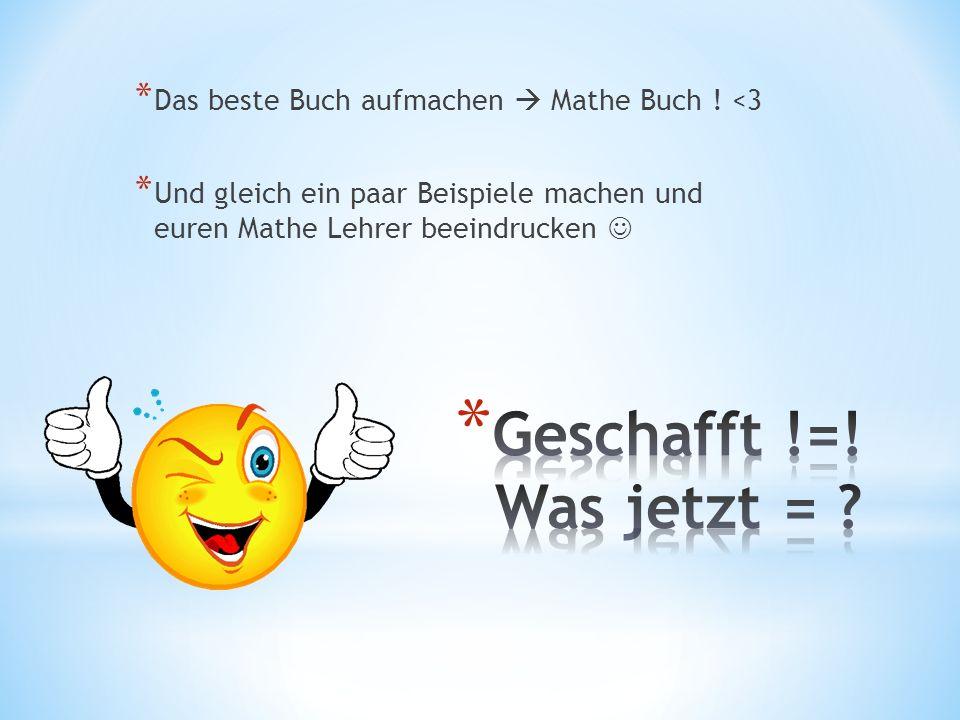 * Das beste Buch aufmachen Mathe Buch .
