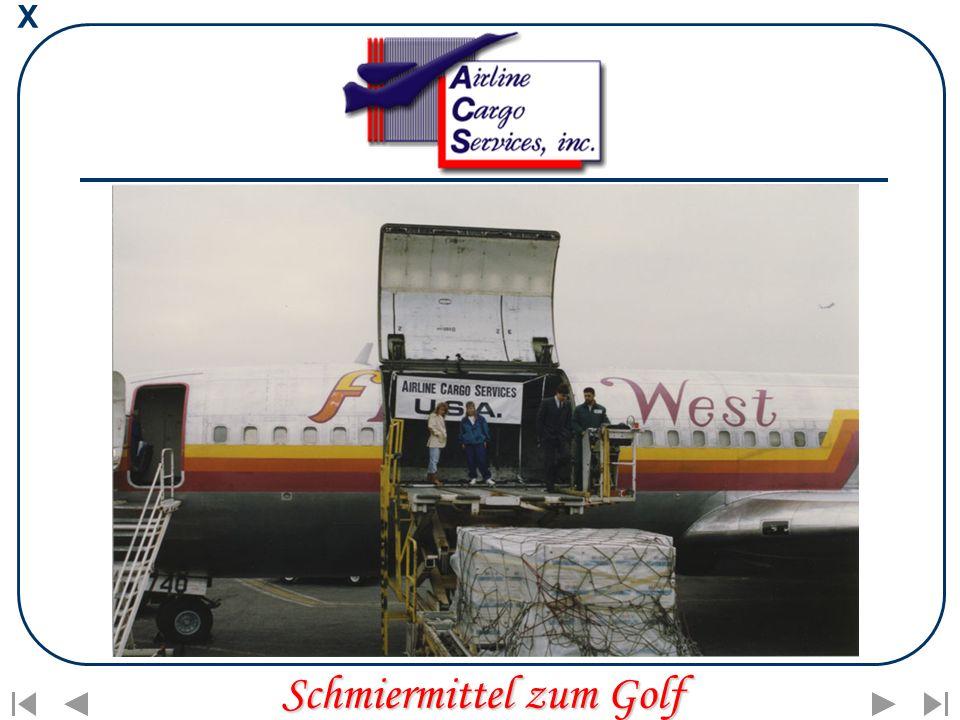 X Schmiermittel zum Golf