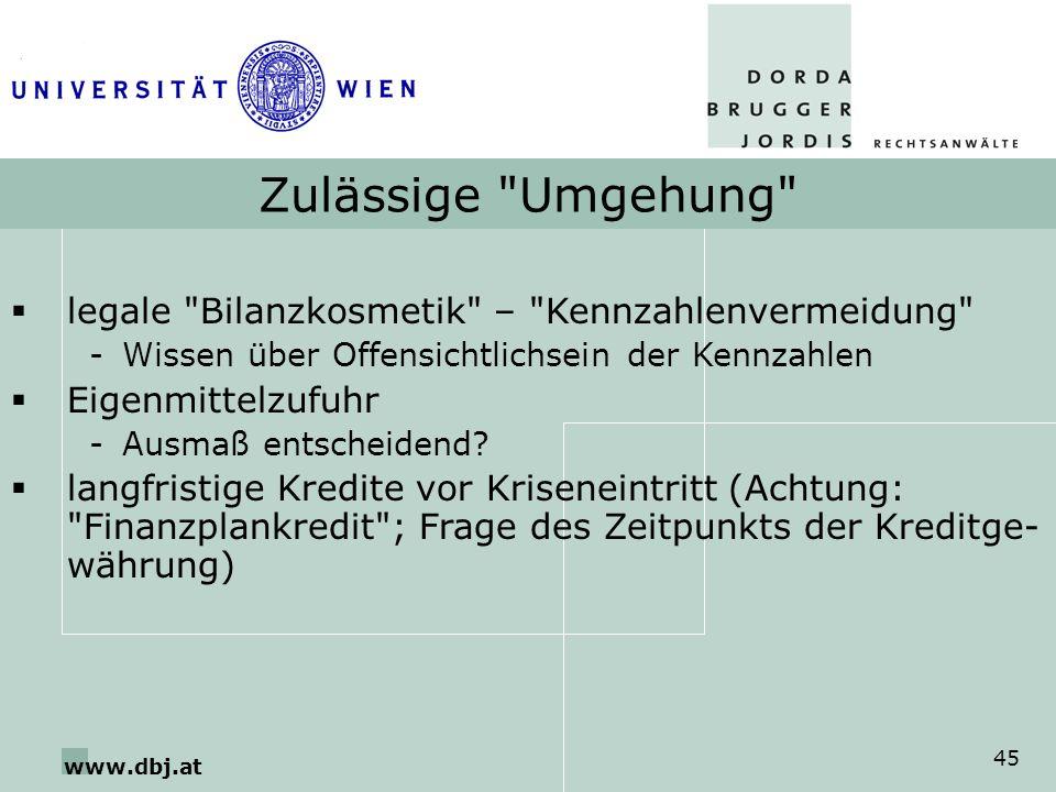 www.dbj.at 45 Zulässige