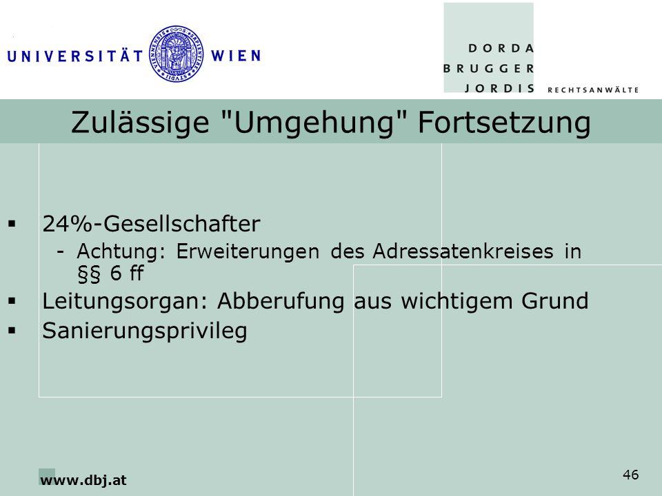 www.dbj.at 46 Zulässige