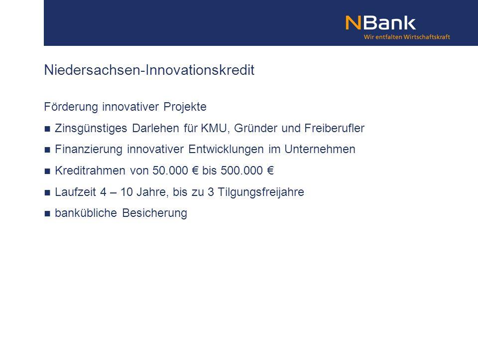Förderung innovativer Projekte Zinsgünstiges Darlehen für KMU, Gründer und Freiberufler Finanzierung innovativer Entwicklungen im Unternehmen Kreditra