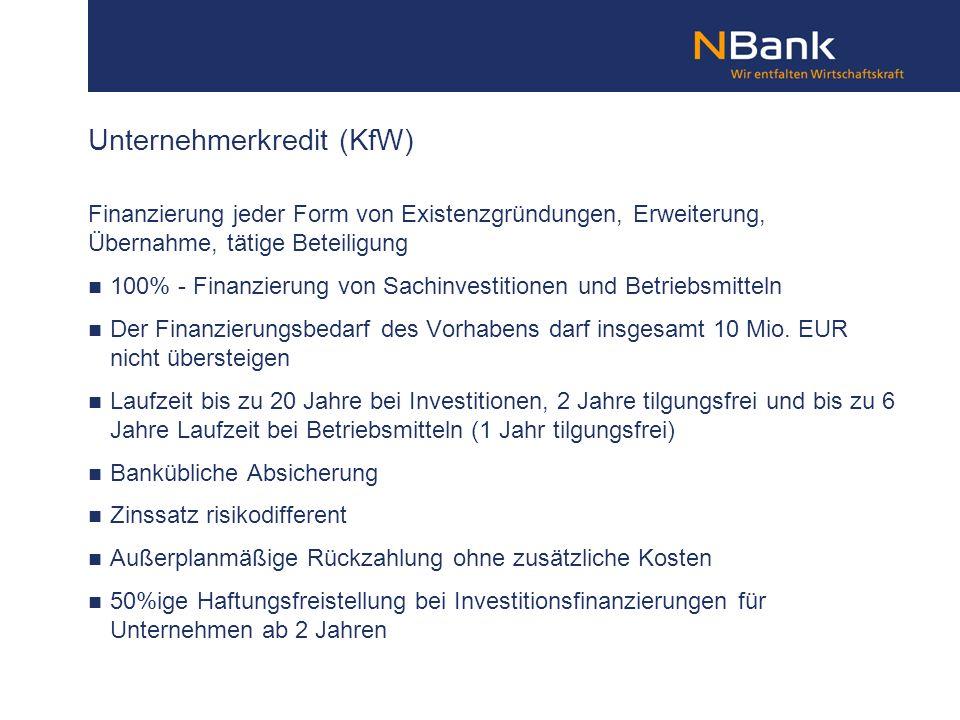Finanzierung jeder Form von Existenzgründungen, Erweiterung, Übernahme, tätige Beteiligung 100% - Finanzierung von Sachinvestitionen und Betriebsmitte