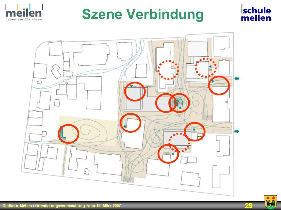 Dorfkern Meilen / Orientierungsveranstaltung vom 12. März 2007 29 Szene Verbindung