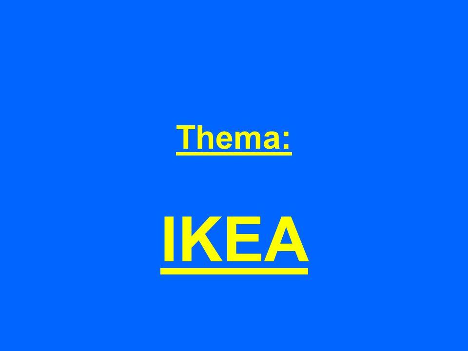 Thema: IKEA