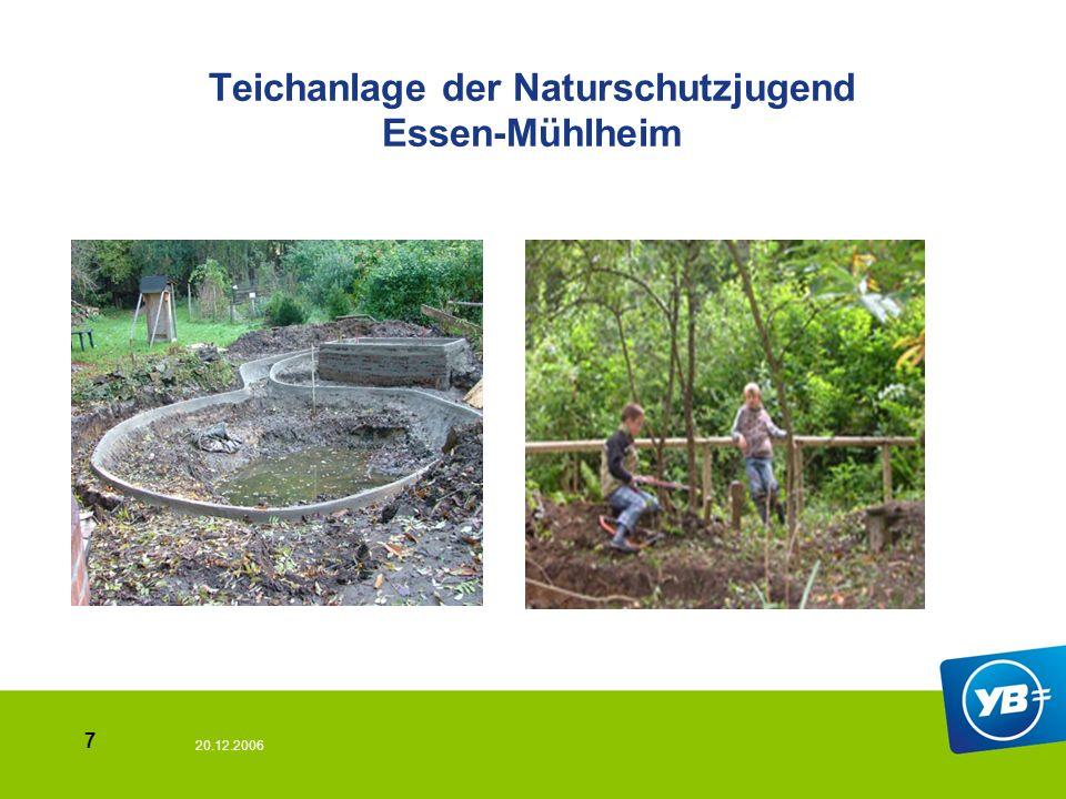 20.12.2006 7 Teichanlage der Naturschutzjugend Essen-Mühlheim