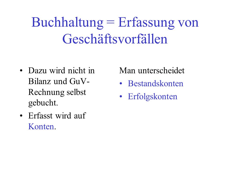 Buchungslogik 4 Aktivkonto 1, z.B.Kasse Aktivkonto2, z.B.