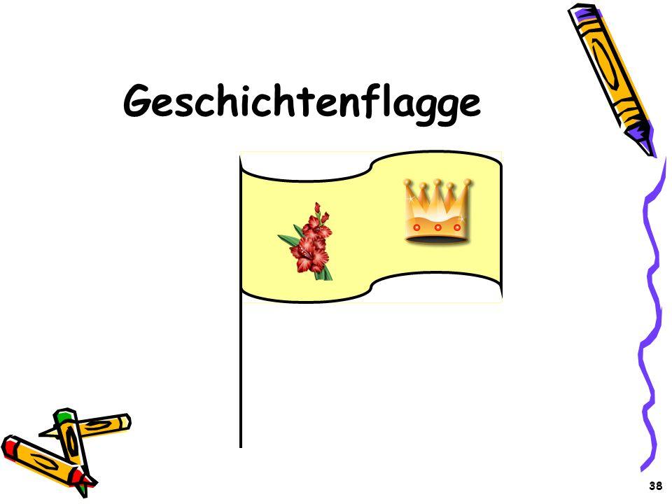 38 Geschichtenflagge