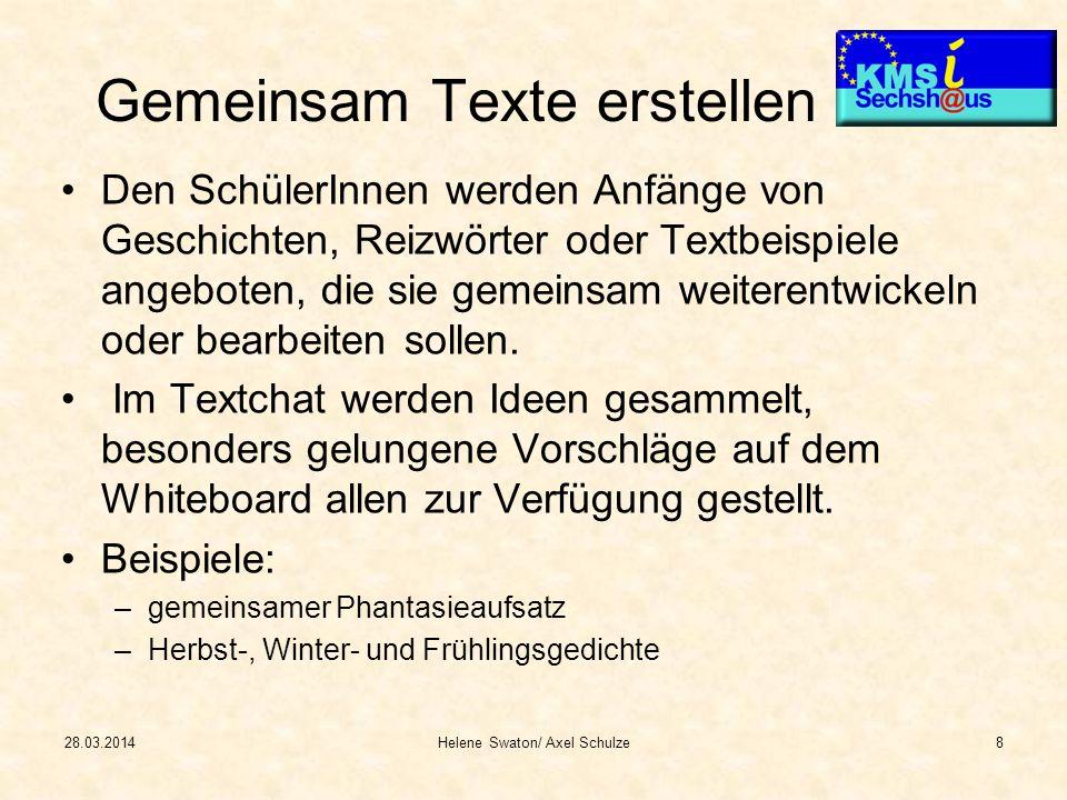 28.03.2014Helene Swaton/ Axel Schulze9 Frühlingsgedicht verfasst am 17.