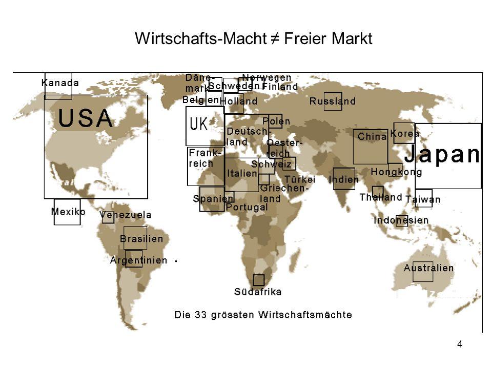 4 Wirtschafts-Macht Freier Markt