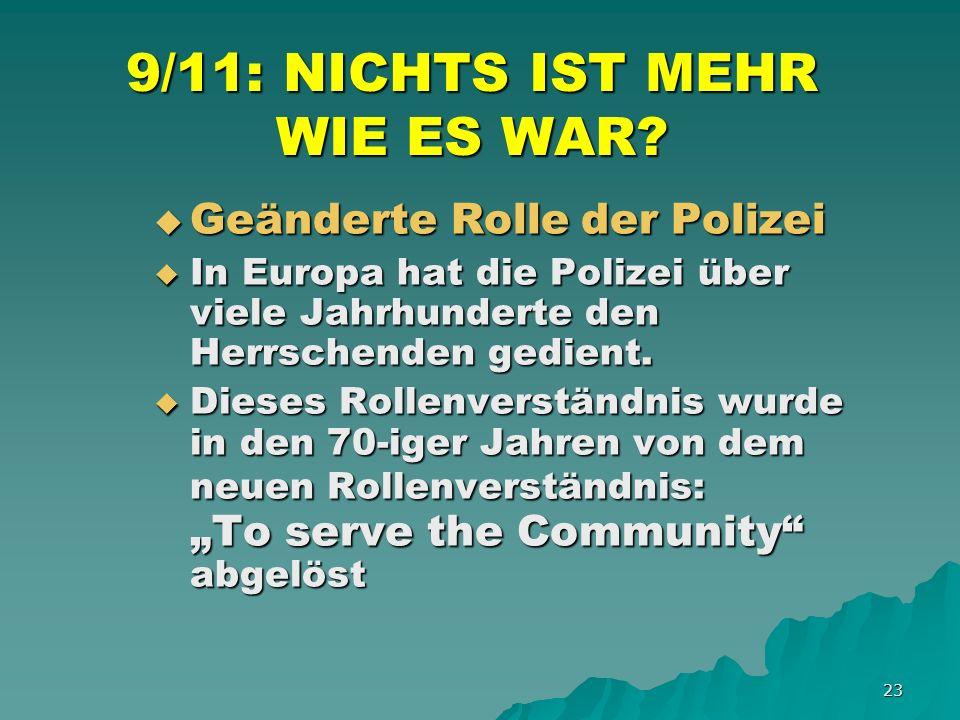 23 9/11: NICHTS IST MEHR WIE ES WAR.