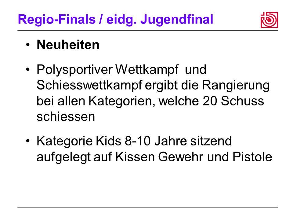 Regio-Finals / eidg.