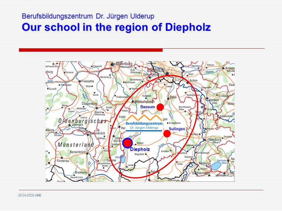 Further Vocational Education: Upper Vocational School (Berufsoberschule) University/College of cooperation education (Berufsakademie)