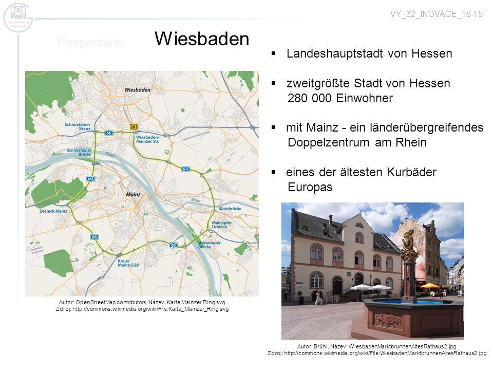 Autor: OpenStreetMap contributors, Název: Karte Mainzer Ring.svg Zdroj: http://commons.wikimedia.org/wiki/File:Karte_Mainzer_Ring.svg Reeperbahn Wiesb