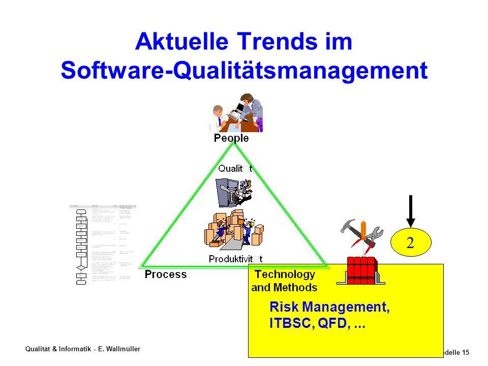 SWEModelle 14 Qualität & Informatik - E. Wallmüller Assessment-Methode SCAMPI