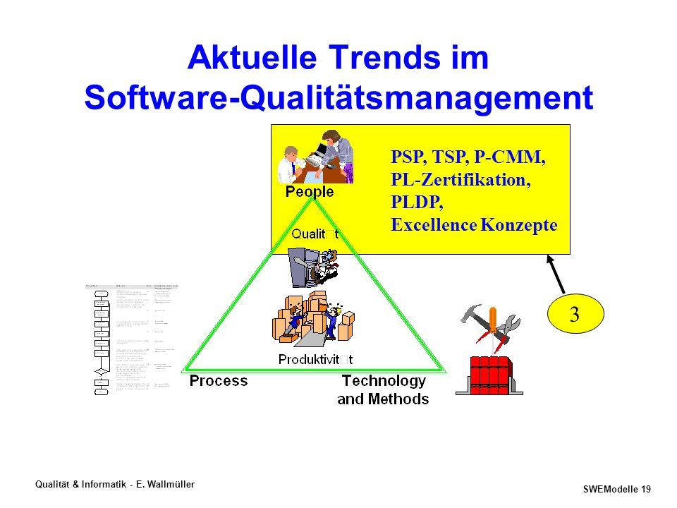 SWEModelle 18 Qualität & Informatik - E. Wallmüller BITS - http://www.esi.es/