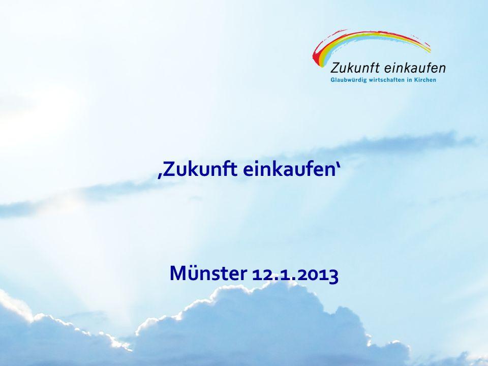 Copyright: EKvW 2008 Zukunft einkaufen Münster 12.1.2013