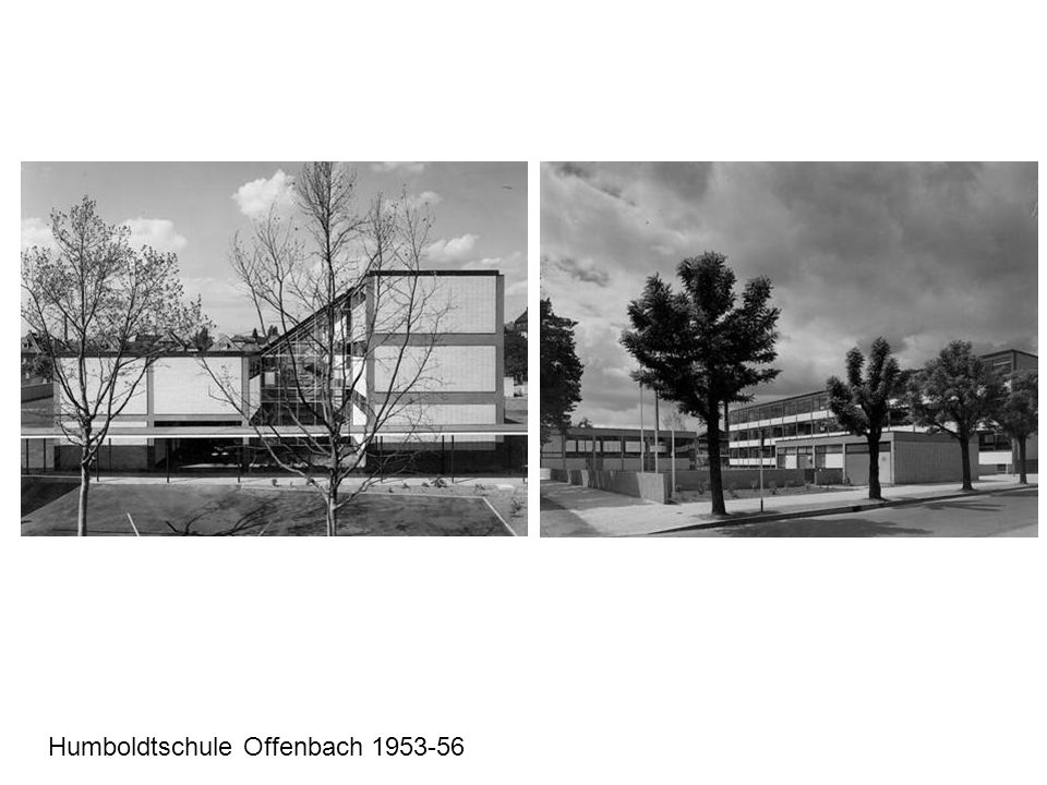 Humboldtschule Offenbach 1953-56