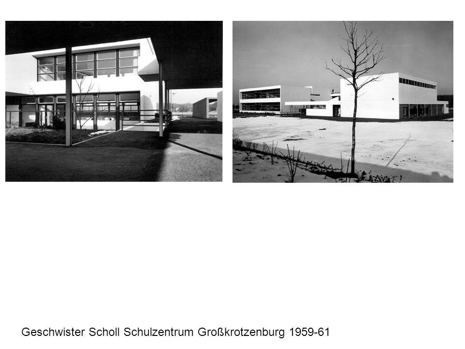 Geschwister Scholl Schulzentrum Großkrotzenburg 1959-61