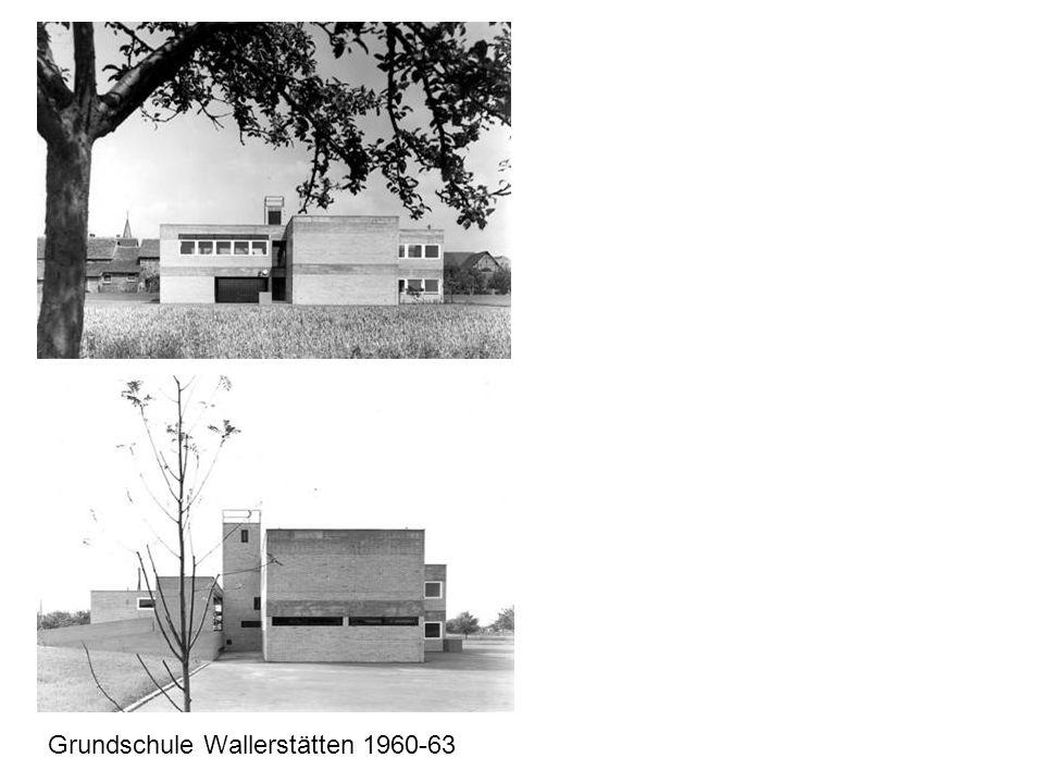 Grundschule Wallerstätten 1960-63