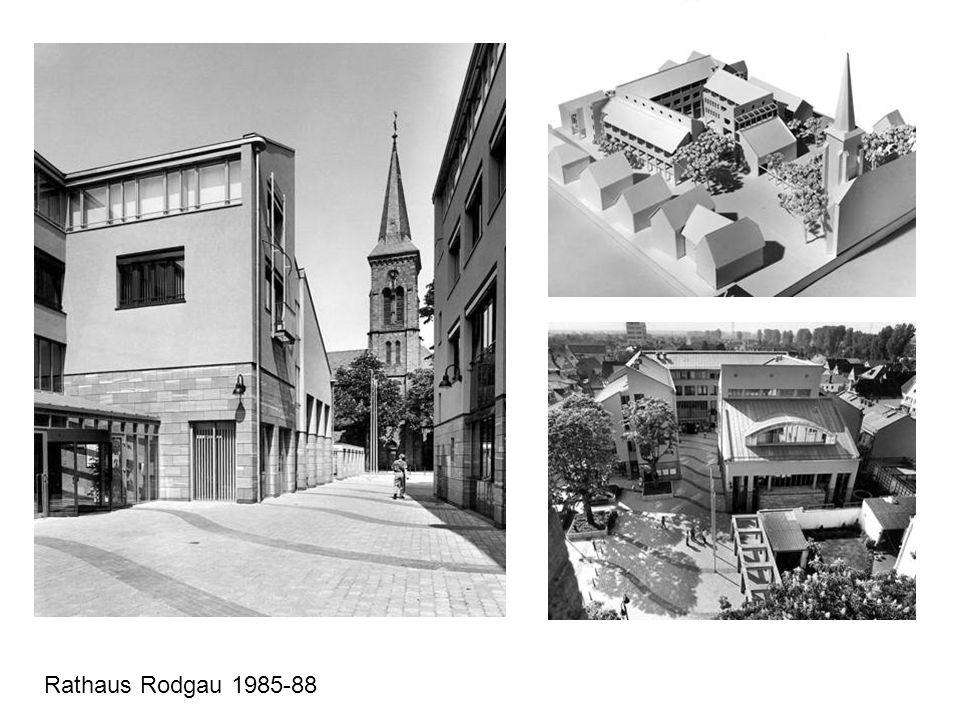 Rathaus Rodgau 1985-88