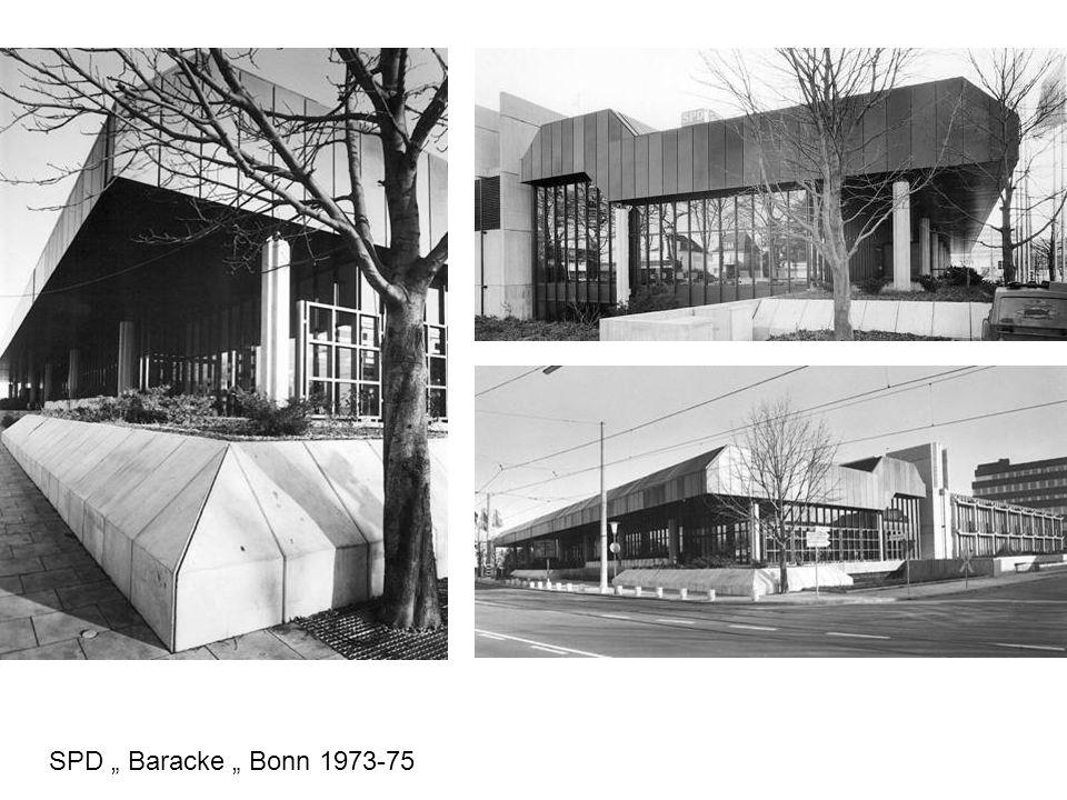 SPD Baracke Bonn 1973-75