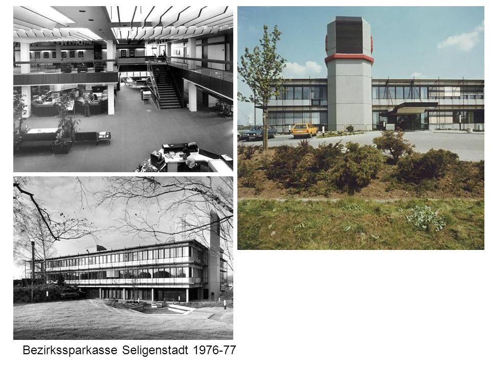 Bezirkssparkasse Seligenstadt 1976-77
