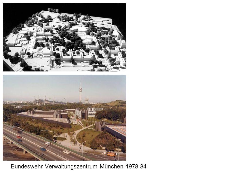 Bundeswehr Verwaltungszentrum München 1978-84