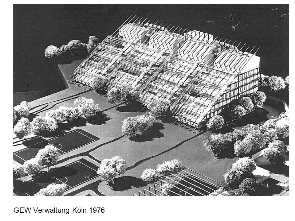 GEW Verwaltung Köln 1976