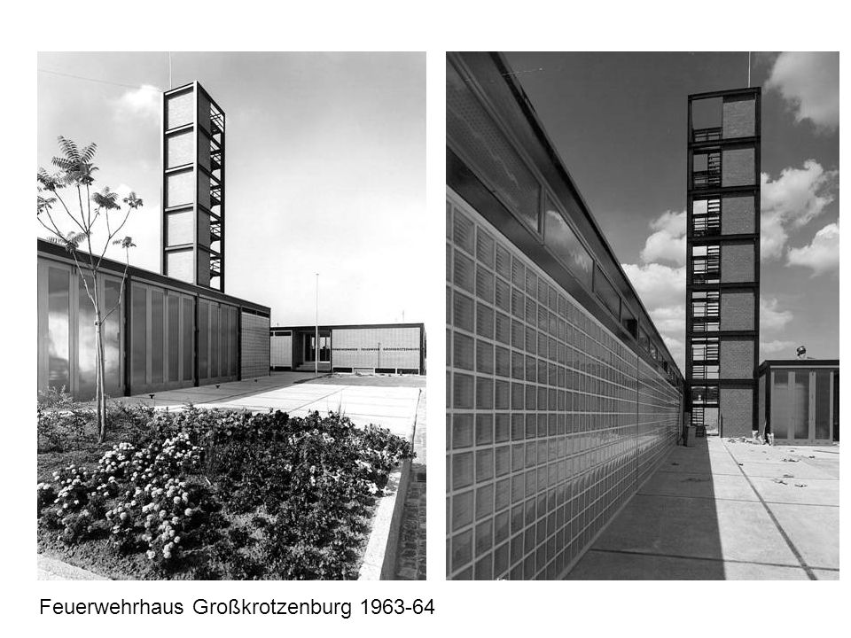 Feuerwehrhaus Großkrotzenburg 1963-64