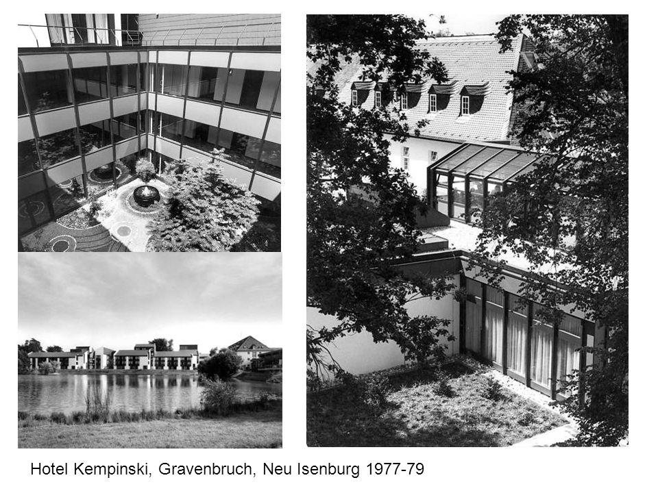 Hotel Kempinski, Gravenbruch, Neu Isenburg 1977-79