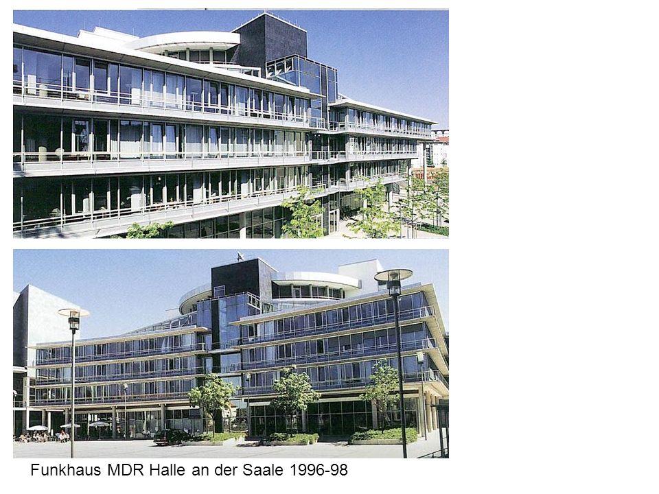 Funkhaus MDR Halle an der Saale 1996-98