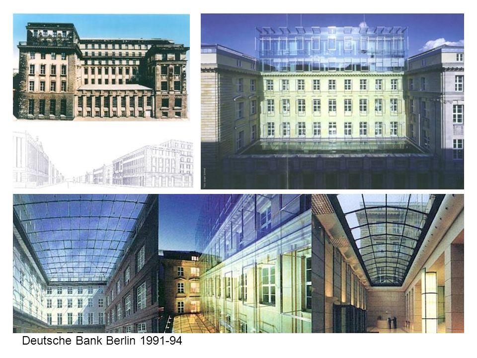 Deutsche Bank Berlin 1991-94