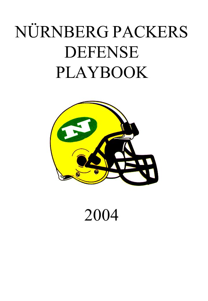 NÜRNBERG PACKERS DEFENSE PLAYBOOK 2004